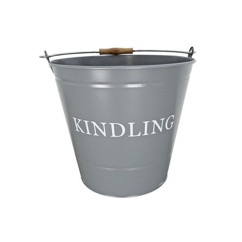 Manor Small Kindling Bucket - Grey