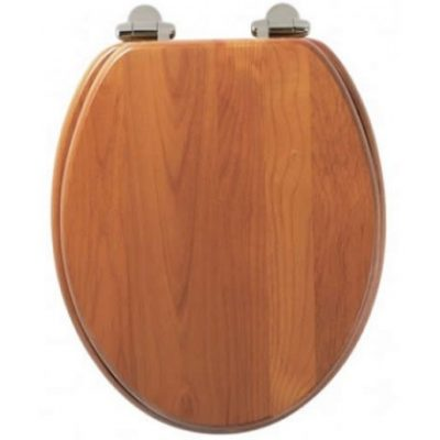 Roper Rhodes Traditional Soft-Closing Toilet Seat - Antique Pine