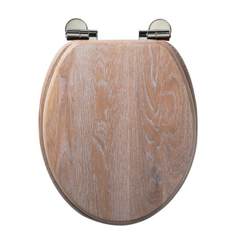 Roper Rhodes Traditional Soft-Closing Toilet Seat - Limed Oak