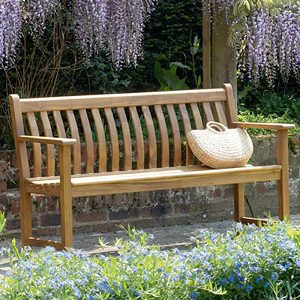 Alexander Rose Acacia Broadfield Bench 5ft