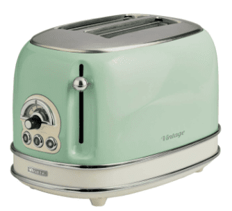 Ariete 2 Slice Toaster Green