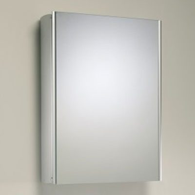 Roper Rhodes Limit Slimline Single Mirror Glass Door Cabinet