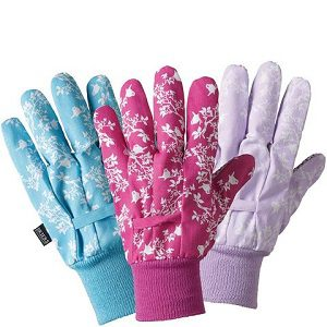 Briers Signature Collection Birds And Branches Ladies Gloves Triple Pack