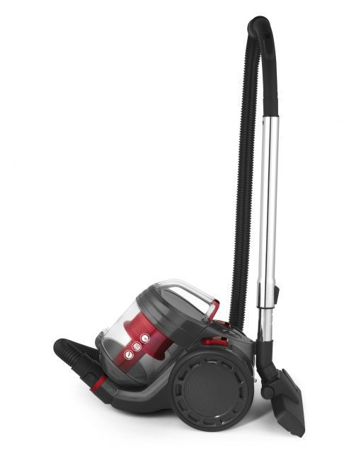 Beldray Compact Vac Lite Cylinder Vacuum, 2 Litre, 700 W, Red