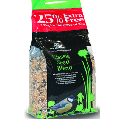 Tom Chambers Classic Seed Blend 25% Extra Free
