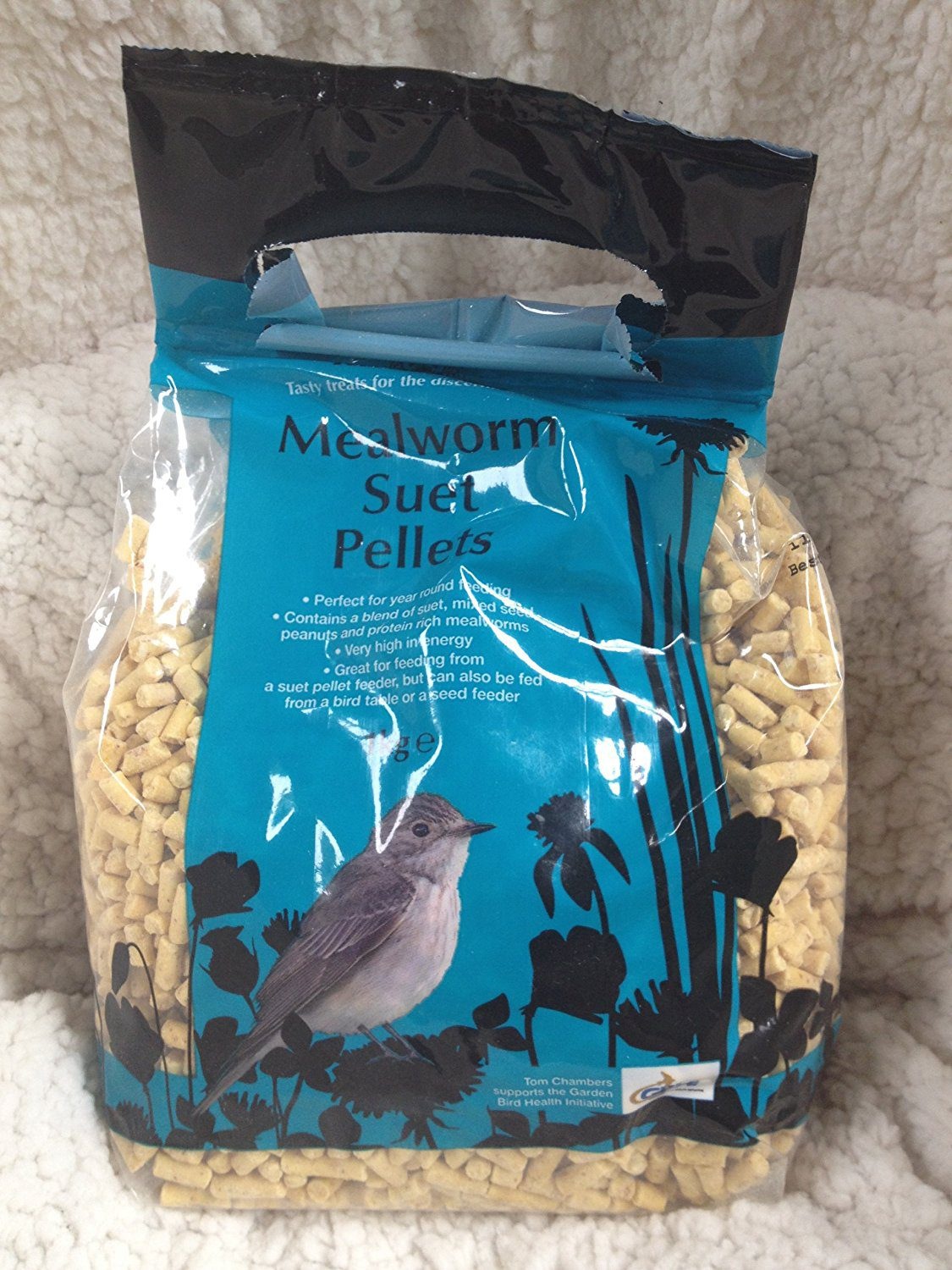Tom Chambers Mealworm Suet Pellets