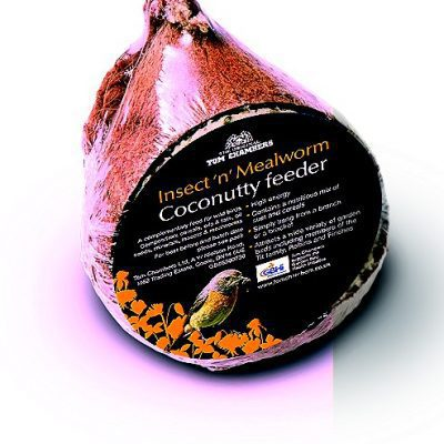 Tom Chambers Coconutty Whole Coconut With Mealworms