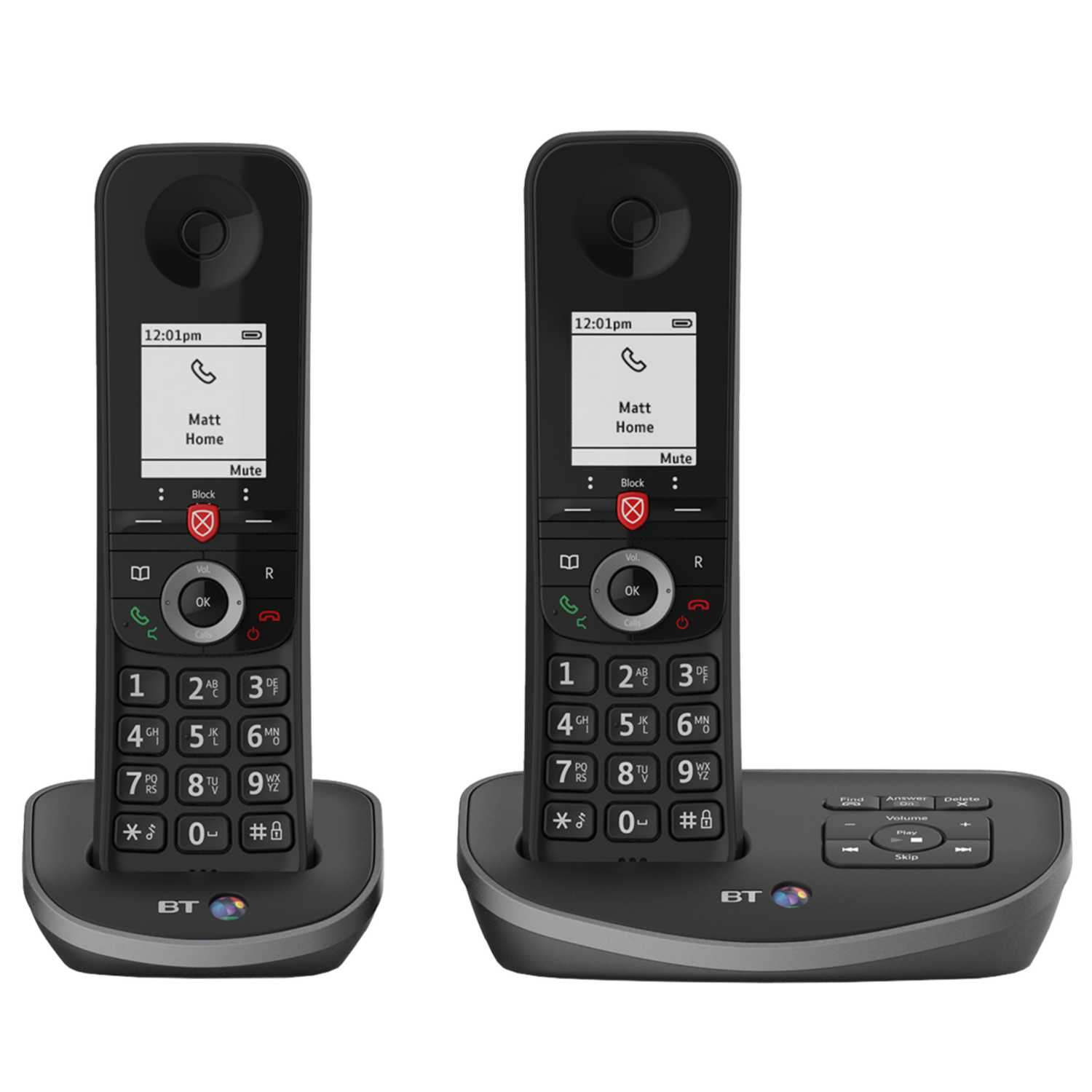 BT Advanced Twin Phone Answermachine & Nuisance Call Block