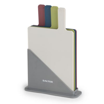 Salter Chopping Set of 4 Boards, Multicolour