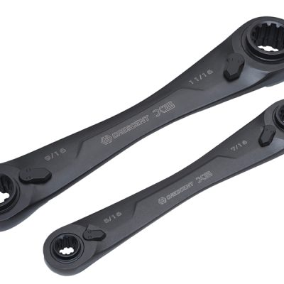 Crescent X6™ Ratcheting Metric Wrench Set 2 Piece