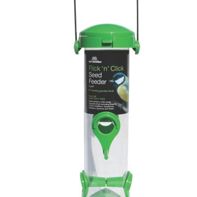 Tom Chambers Flick And Click Seed Feeder 4 Port