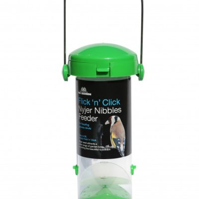 Tom Chambers Flick And Click Nyjer Seed Feeder 2 Port