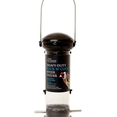 Tom Chambers Heavy Duty Flick And Click Nyjer Feeder