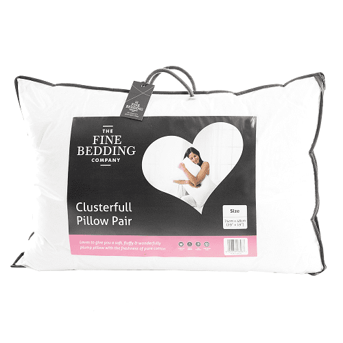 Fine Bedding Clusterfull Pillow Pair