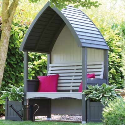 AFK Cottage Arbour Charcoal