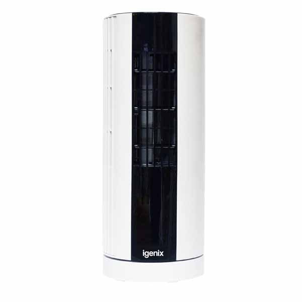 Igenix White Mini Tower Fan - 12 Inch