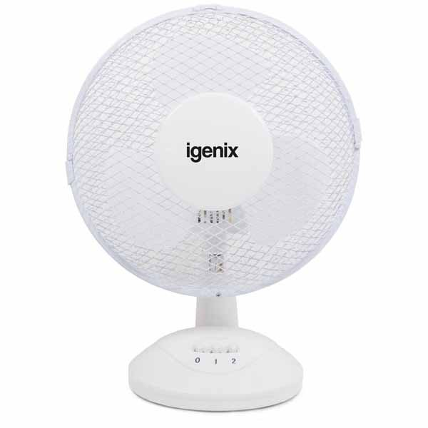 Igenix Desk Fan - 9 Inch