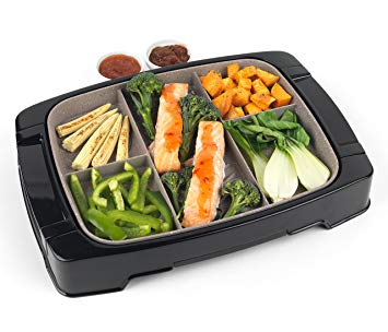 Weight Watchers Multi-Portion 5-in-1 Grill with Marble Effect Non-Stick Coating, 1500 W