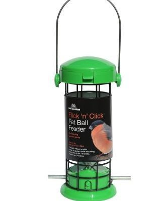 Tom Chambers Flick And Click Fat Ball Feeder