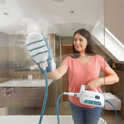 Black & Decker SteaMitt Handheld Steam Cleaner