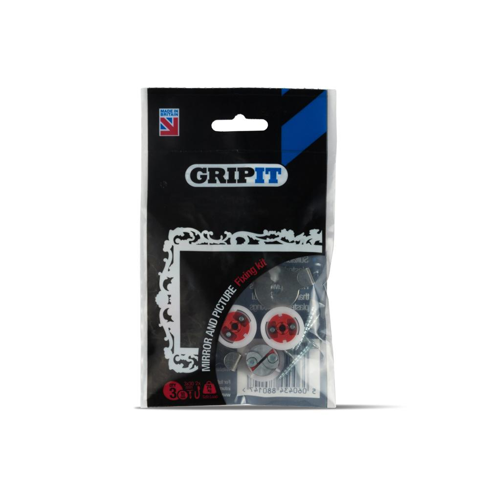 GRIP-IT Mirror & Picture Kit