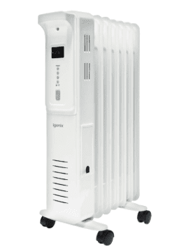 Igenix 1.5 kW Digital Oil Filled Radiator White