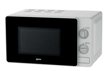 Igenix 20Litre 800W Manual Microwave White
