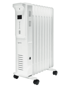 Igenix 2 kW Digital Oil Filled Radiator White