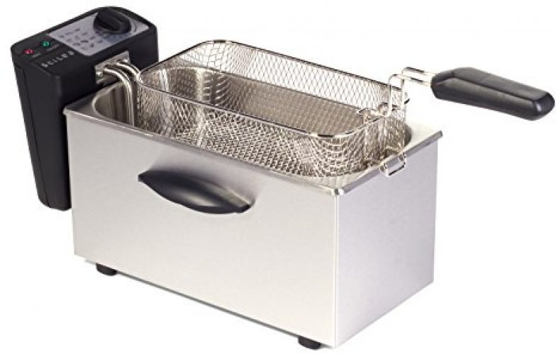 Igenix 3.5 Litre Fryer Brushed Stainless Steel