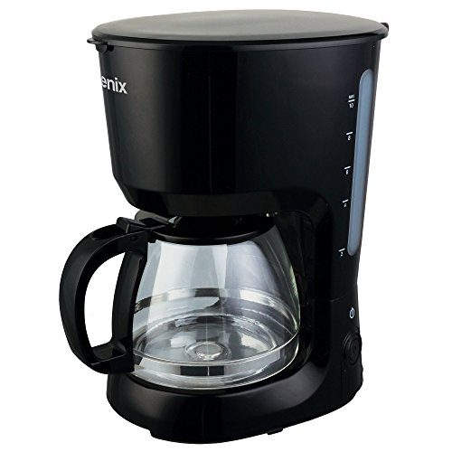 Igenix 750W 1.25 Litre Filter Coffee Maker Black