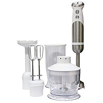 Igenix 800W 4 in 1 Hand Blender White