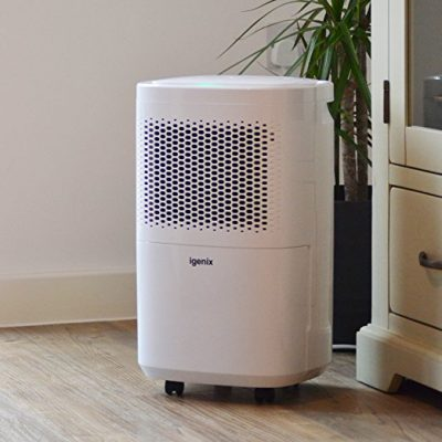 Igenix 12L Portable Air Dehumidifier White IG9813