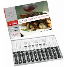Judge Sabatier 12pce Steak & Knife Set