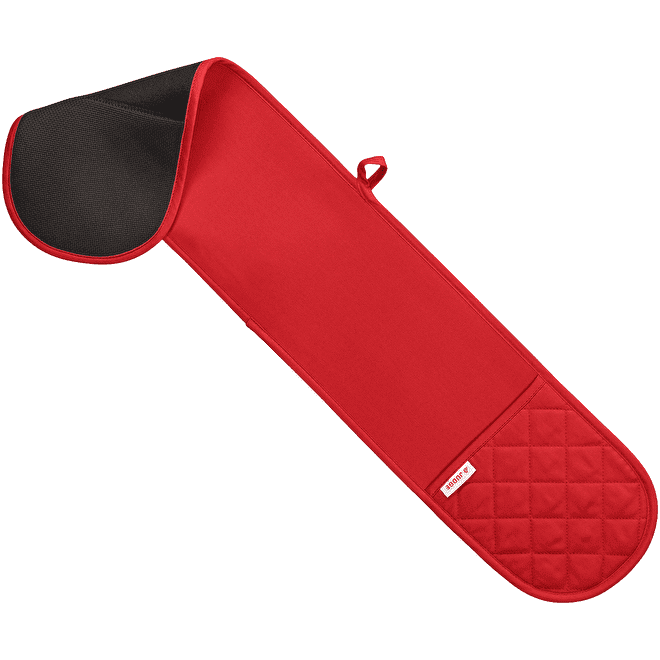 Judge Textiles Double Oven Mitt - Red