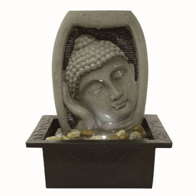 Aqua Creations Parma Tranquil Buddha Face Indoor Water Feature