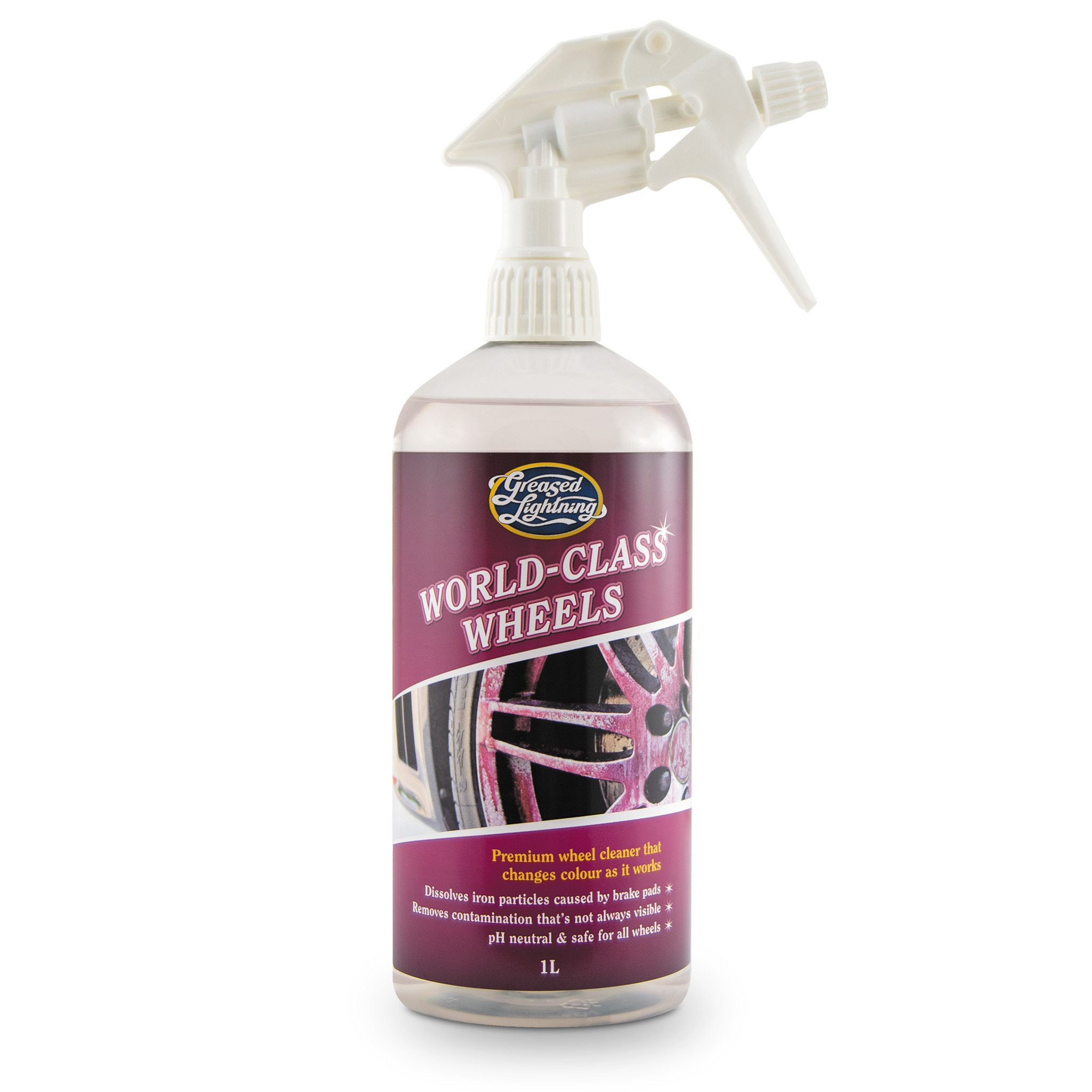 Greased Lightening World Class Wheels - Premium Wheel Cleaner