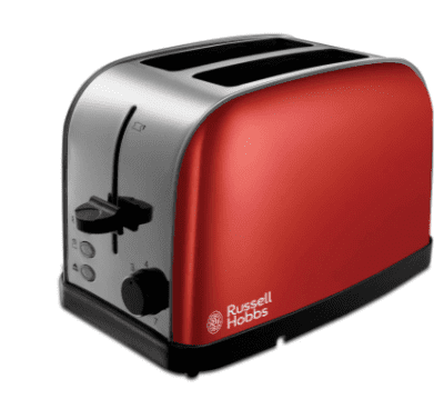 Russell Hobbs 2 Slice Dorchester Toaster Red