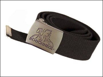 Roughneck Black Heavy-Duty Woven Belt
