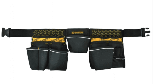 Roughneck Contractor's Double Pouch Tool Belt