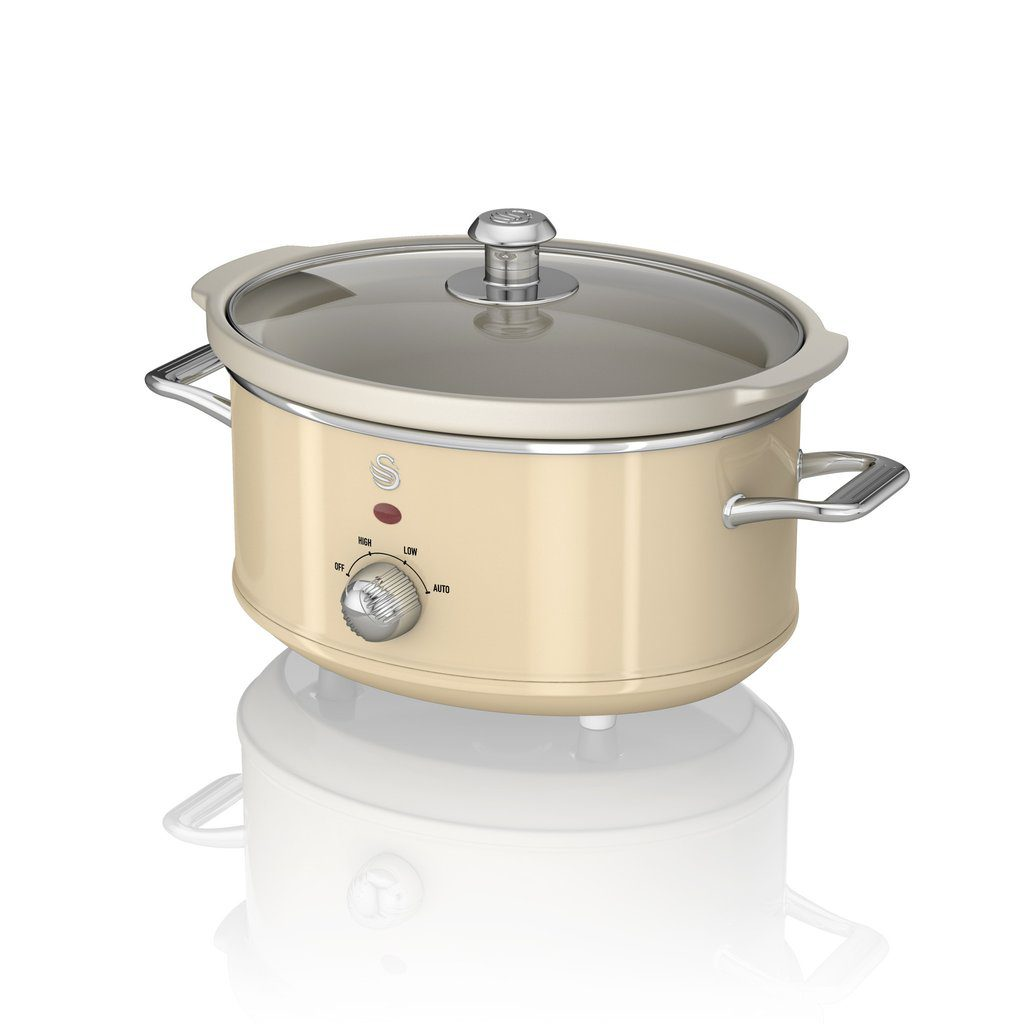 Swan Retro 3.5L Slow Cooker