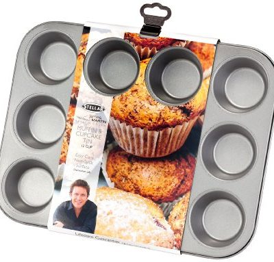 Stellar James Martin Bakers Dozen 12 Cup Muffin/Cupcake Tin