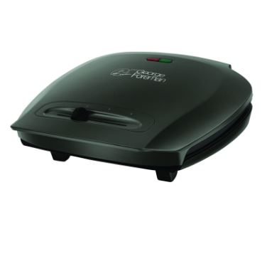 George Foreman Family 5 Portion Grill Black