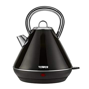 Tower 3KW 1.8L Stainless Steel Kettle - Black