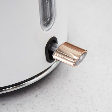 Tower 3kW 1.7L Stainless Steel Kettle - Rose Gold & White