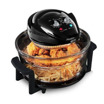 Tower T14001 Airwave Low Fat Air Fryer 1300w  Black