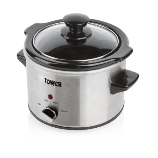 Tower 1.5L Stainless Steel Slow Cooker