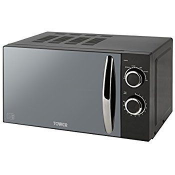 Tower 800W Microwave with Mirror Door