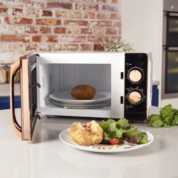 Tower 20L Manual Microwave - Rose Gold & White