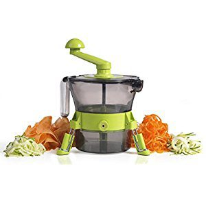Tower Spudnik Spiraliser, Ultra-Sharp Julienne Blade - Green