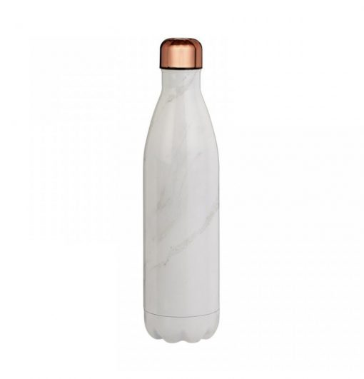 Tower 750ML Sports Bottle - Rose Gold & White Marble